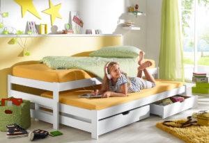 Детская кровать с дополнительным выдвижным местом в Москве!