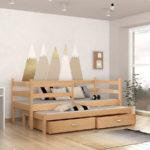 Детская кровать с дополнительным спальным местом!