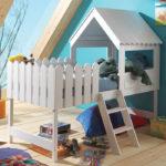 Детские белые кровати домики на сайте krowatki.ru