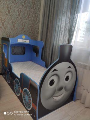 Кровать паровозик Томас!