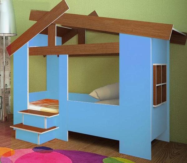 Кровать домик для мальчика