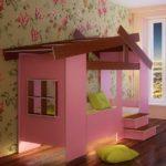 Кровать домик фото