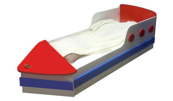 Детская кровать корабль Пираты - krowatki.ru
