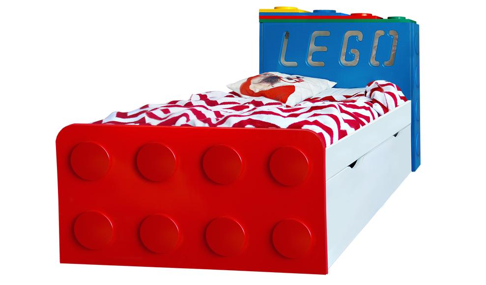 Кровать подростковая Леголенд с подсветкой, купить на www.krowatki.ru