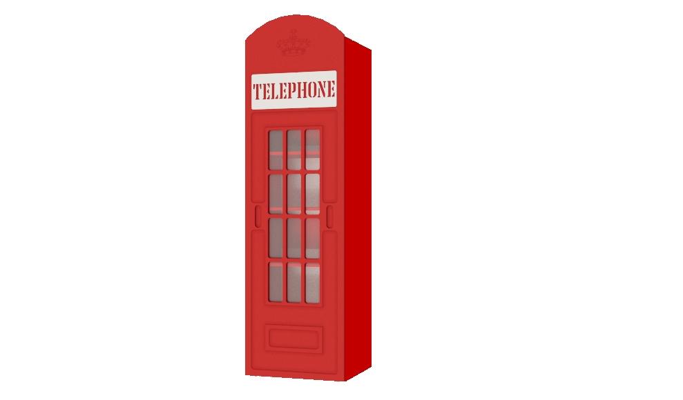 Шкаф телефонная будка купить