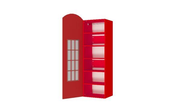 Шкаф телефонная будка лондон