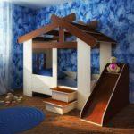 Кровать домик купить в Москве