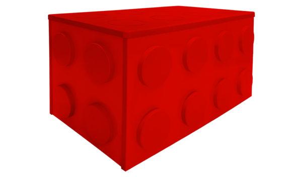 Ящик для игрушек из серии мебели Лего!