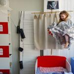 Стеллаж в детскую Маяк со светильником - мебель Пираты!