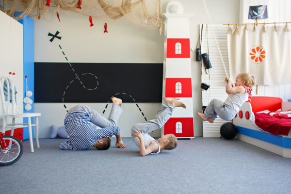 Детская кровать в виде корабля купить - krowatki.ru