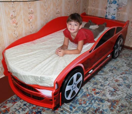 кровать машина отзывы
