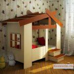 Кровать домик для детей купить