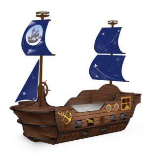 Кровать корабль Мечта Пирата с доставкой!