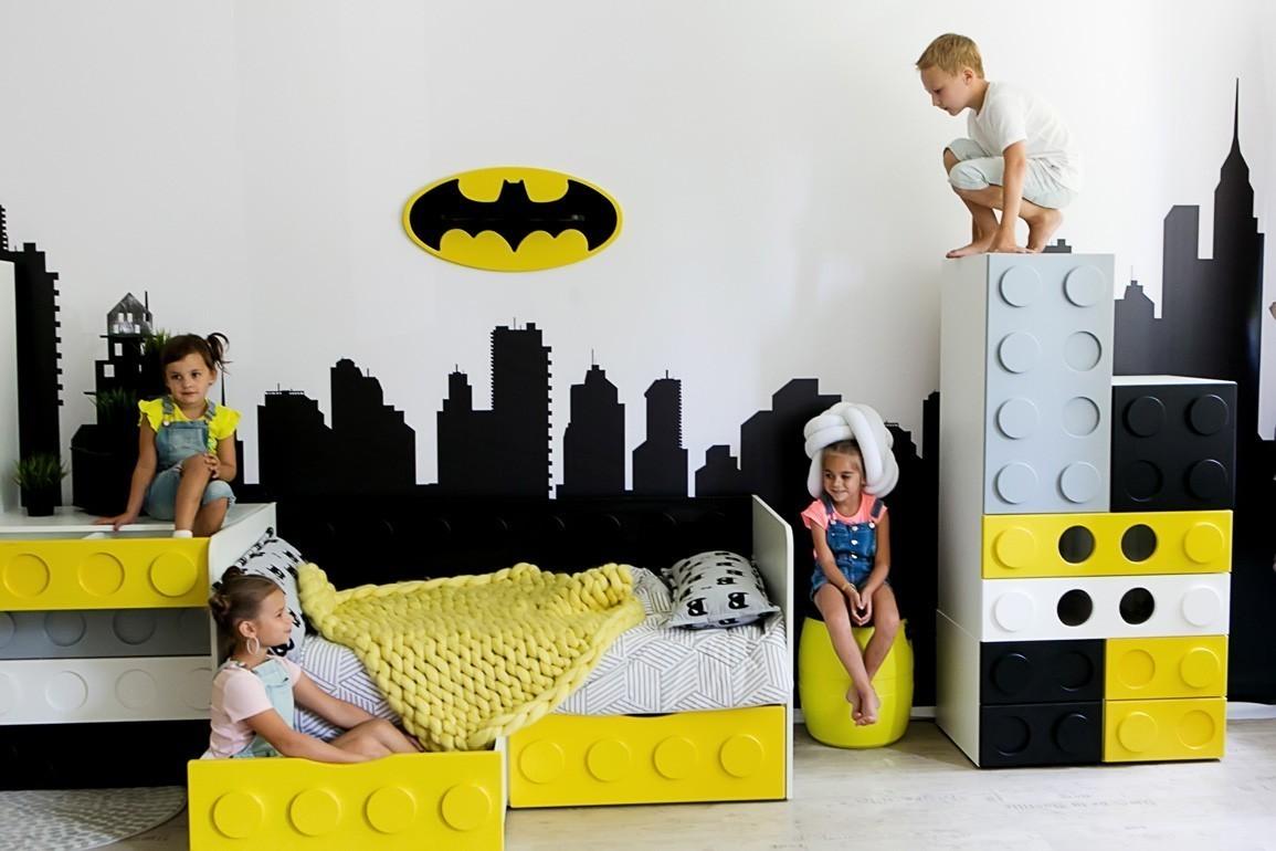 Диван кровать Бэтмен - мебель Бэтмен!
