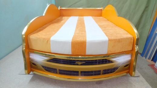 кровать машина с дополнительным спальным местом