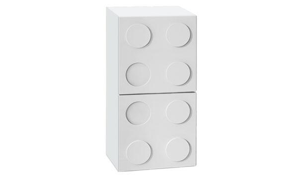 Полка навесная вертикальная - мебель Lego!