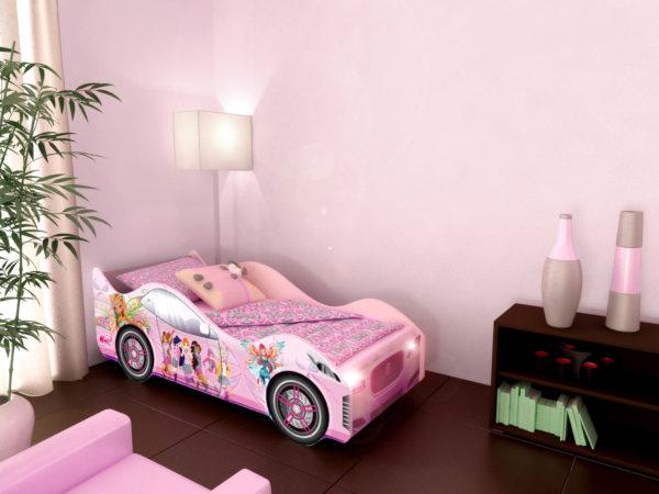 Кровать машина Фея в нашем интернет-магазине www.krowatki.ru