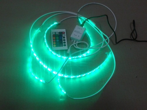 Светодиодная подсветка с дистанционным пультом управления 12v