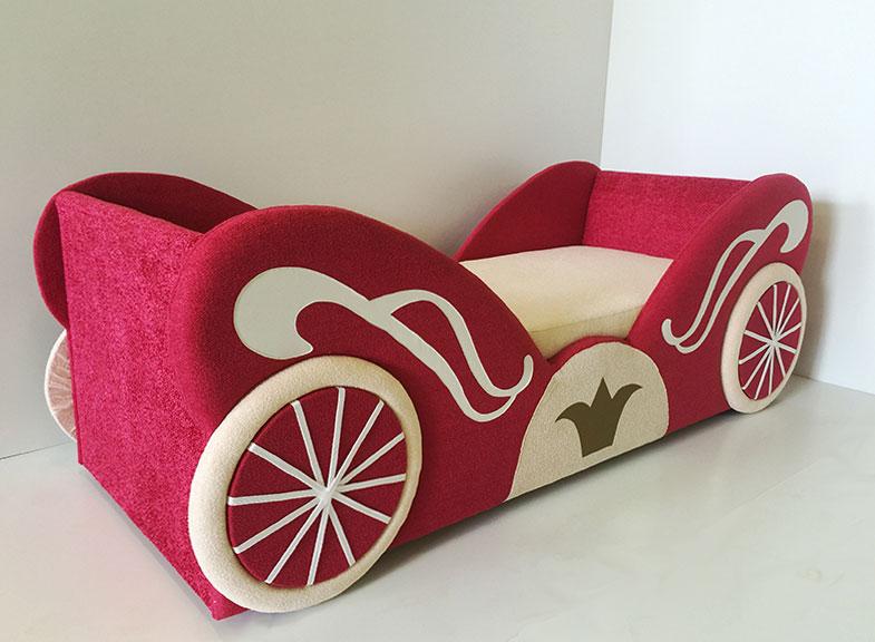 Купить диван кровать Карета для девочки с доставкой!
