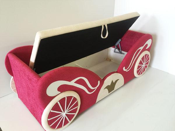 Кровать детская карета princess