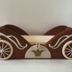 Кровать карета для девочки купить в Екатеринбурге
