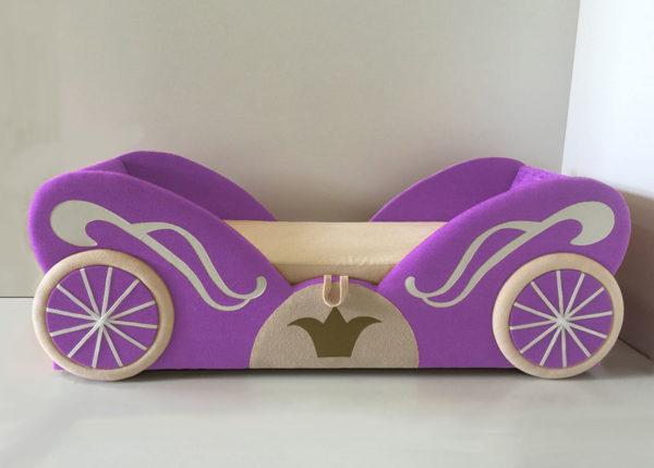 Кровать карета для девочки купить в Спб