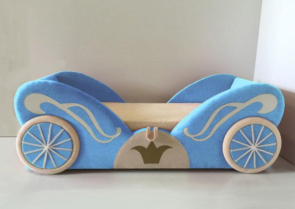 Кровать фанки кидз карета мини арт 20014