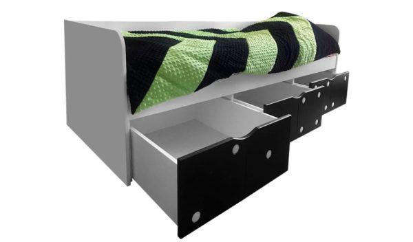 Подростковая кровать в виде тахты Домино с доставкой по РФ!