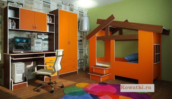 Кровать домик Москва