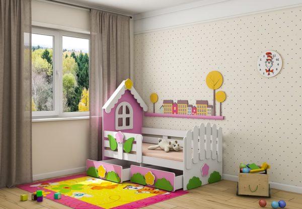 Кровать теремок на www.krowatki.ru