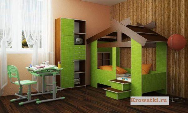 Кровать домик купить в СПБ
