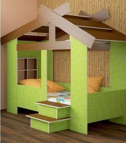 Кровать в виде домика