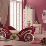 Фото детской кровати карета