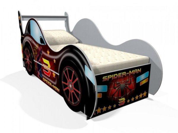 Детская кровать Спайдермен