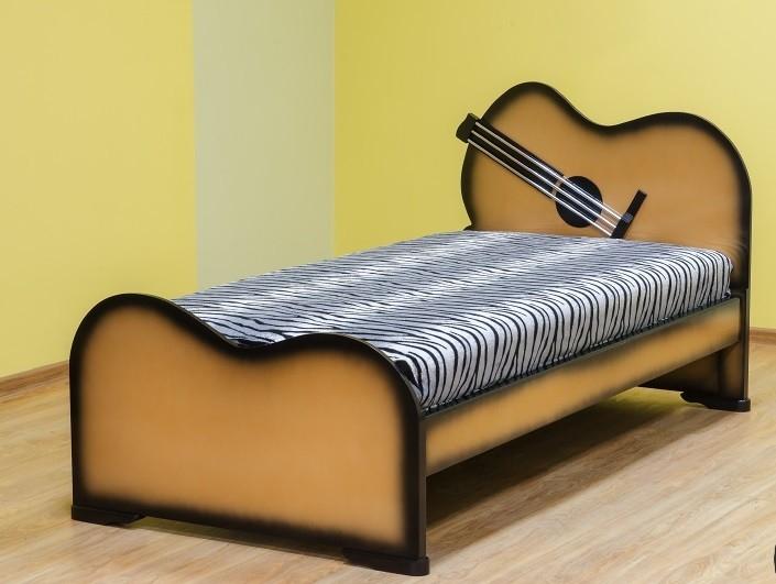 Детская, подростковая кровать Гитара!