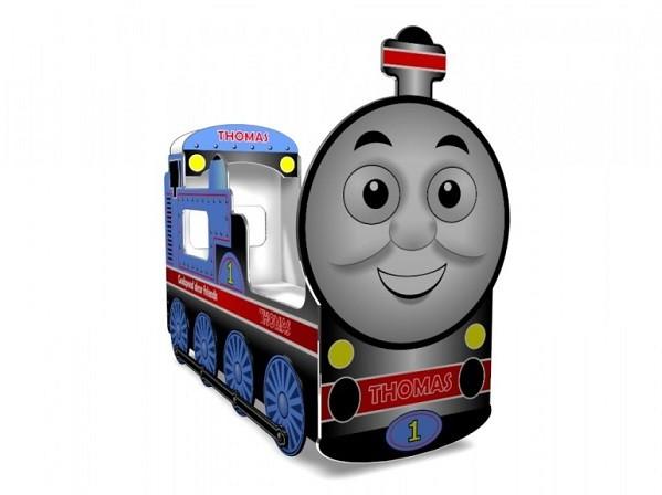 Кровать Томас! Объёмные колёса в комплекте!