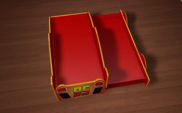 Кровать молния Маккуин с выдвижным спальным местом!