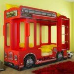 Детская кровать в виде Автобуса