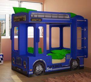 Детская кровать автобус Лондон