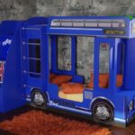 Кровать Автобус детская купить в Москве!