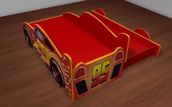 Детская кровать молния маккуин с доп. спальным местом!