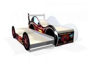 Крутая кровать Спайдермен для двоих детей!