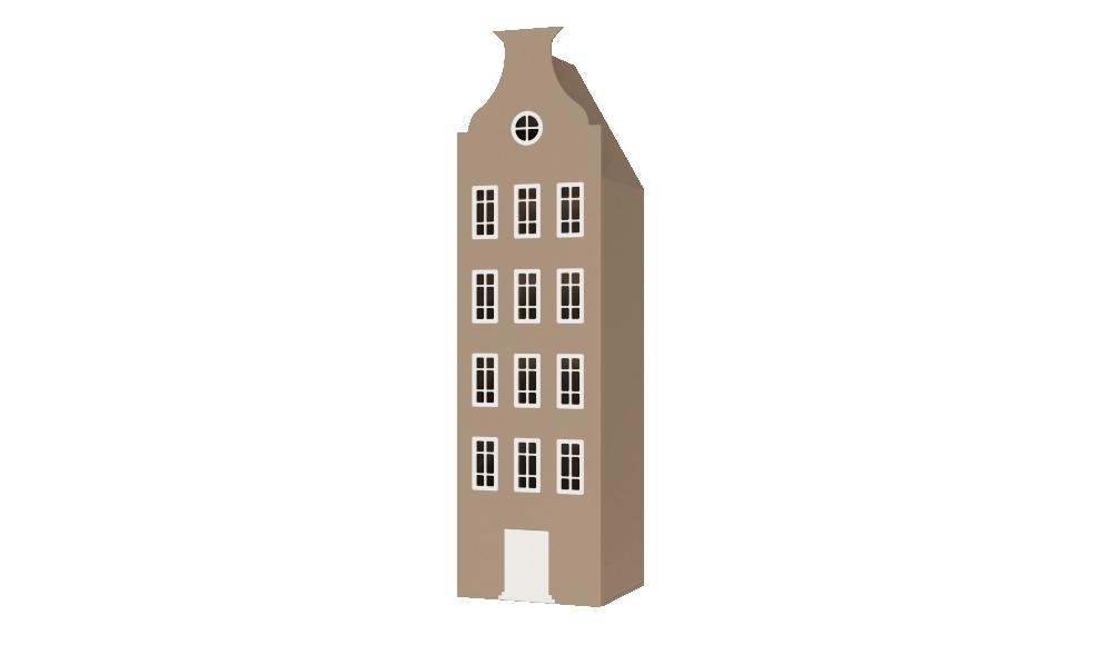 Шкаф в виде домика Амстердам в Москве с доставкой до дома!