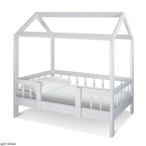 Детский домик кровать Миа. Массив сосны! Цвета в ассортименте!