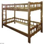 Кровать цвет дерева - массив Сосны. Скидки!