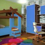 Кровать домик от 3 лет