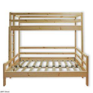 Двухъярусная кровать нижняя шире