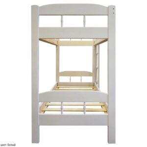 Кровать белый массив сосна