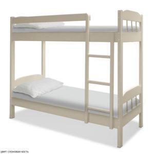 Двухъярусная кровать из массива сосны Скаут 1! Доставка!