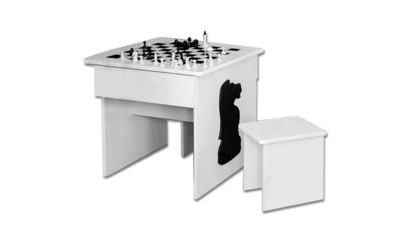 Классный игровой стол Шахматы для интеллектуальных деток!